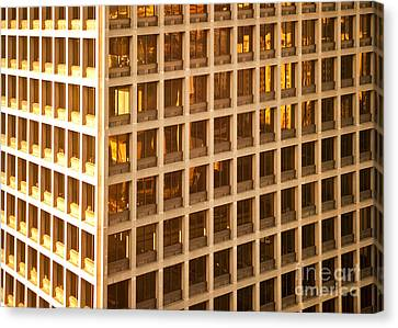 Office Building Canvas Print by David Buffington