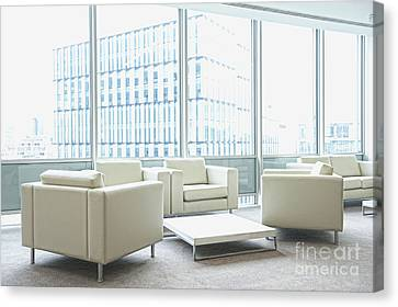 Office Interior Canvas Print by Dave & Les Jacobs