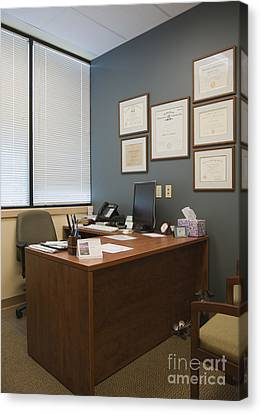 Office Space Canvas Print by Andersen Ross