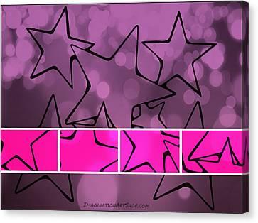 Oh My Stars Canvas Print by Mandy Shupp