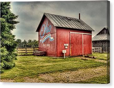 Ohio Barn Canvas Print by Mary Timman