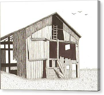 Ohio Barn Canvas Print by Pat Price