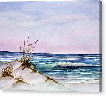 Okaloosa Beach Canvas Print by Rosie Brown