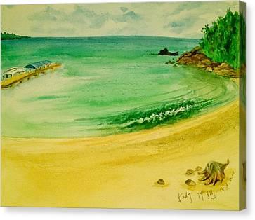 Okinawa Holiday Canvas Print by Kadij A