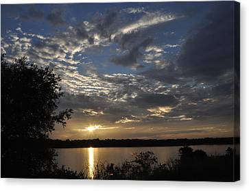 Oklahoma Lake Canvas Print
