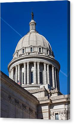 Oklahoma State Capitol Dome Canvas Print by Doug Long