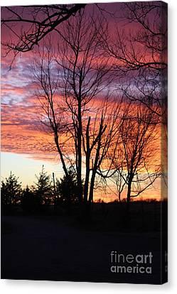 Oklahoma Sunset 3 Canvas Print