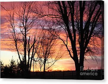 Oklahoma Sunset Canvas Print