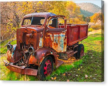 Old And Broken Canvas Print by Marc Crumpler