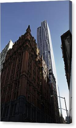 Old And New  Canvas Print by Paul Plaine