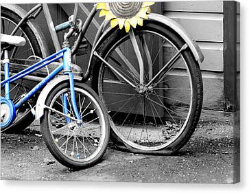 Old And Young Canvas Print by Greg Fortier
