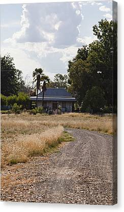 Canvas Print featuring the photograph Old Australian Home by Carole Hinding