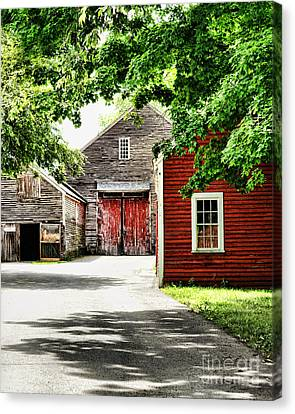 Old Barns Canvas Print by HD Connelly