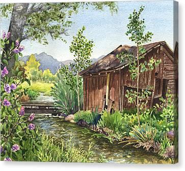 Old Braley Barn Canvas Print