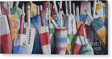 Old Buoy Hangout  Sold Printa Available Canvas Print