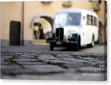 Old Buss Canvas Print by Mats Silvan
