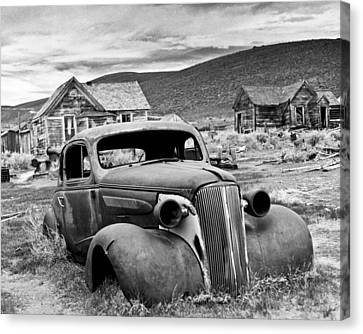 Old Car Bodie Canvas Print