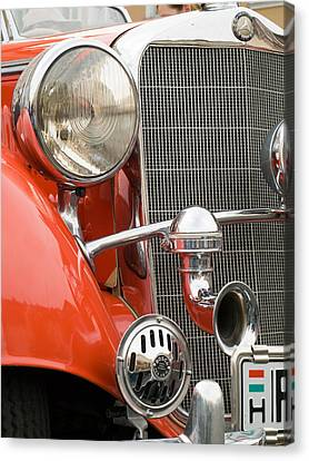 Old Car Detail Canvas Print by Odon Czintos