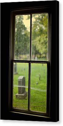 Old Church Window Canvas Print by James Massey