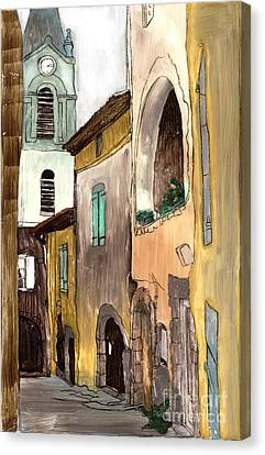 Old City Canvas Print