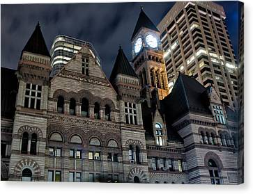 Old City Hall Canvas Print by Luba Citrin
