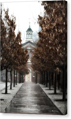 Old City Hall Philadelphia Canvas Print by Bill Cannon