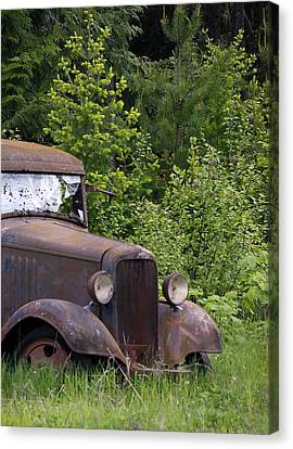 Canvas Print featuring the photograph Old Classic by Steve McKinzie