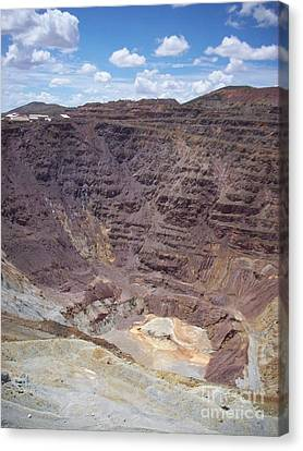 Old Coppermine  Canvas Print