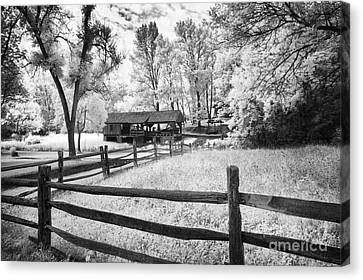 Old Country Saw-mill Canvas Print by Paul W Faust -  Impressions of Light