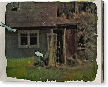 Old Cove Cottage  Canvas Print by Janet Kearns
