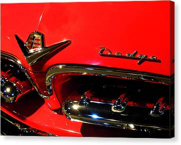 Old Dodge Canvas Print by Farah Faizal