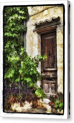 Old Door 2 Canvas Print by Mauro Celotti