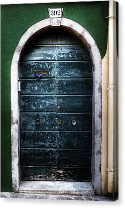 Old Door Canvas Print by Joana Kruse
