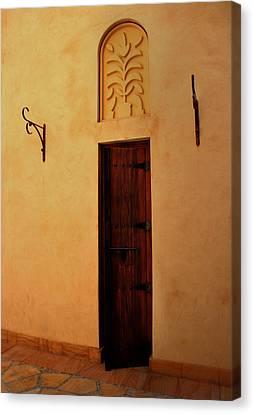 Old Door Canvas Print by Radoslav Nedelchev