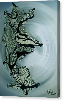 Old Drawing Called Serenity 2   Canvas Print by Colette V Hera  Guggenheim