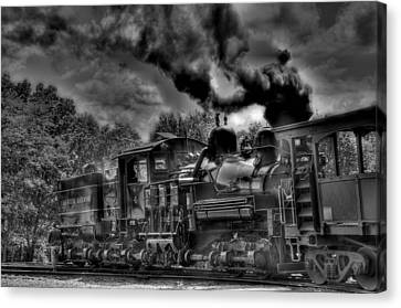 Old Engine Canvas Print