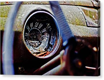 Canvas Print featuring the photograph Old Ford by Randall  Cogle
