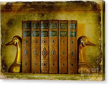 Old Friends Canvas Print by Lois Bryan