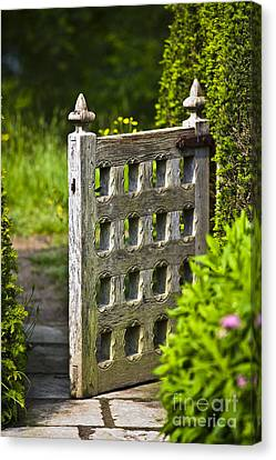 Old Garden Entrance Canvas Print