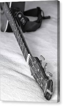 Old Guitar Canvas Print by Svetlana Sewell