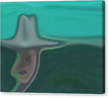 Old Hat Canvas Print by Tim Stringer