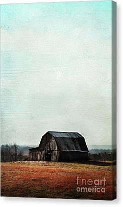 Old Kentucky Tobacco Barn Canvas Print by Stephanie Frey