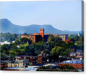 Old Loray Firestone Mill  Canvas Print