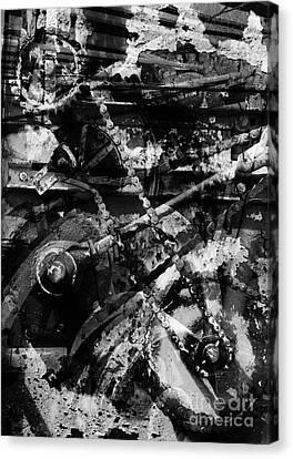 Old Mechanism  Canvas Print by Igor Kislev