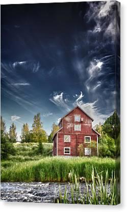 Old Mill Canvas Print by Matti Ollikainen