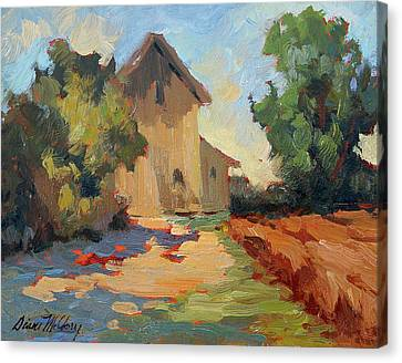 Old Mill Provence Canvas Print by Diane McClary