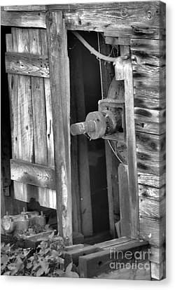 Canvas Print featuring the photograph Old Mill  by Tamera James