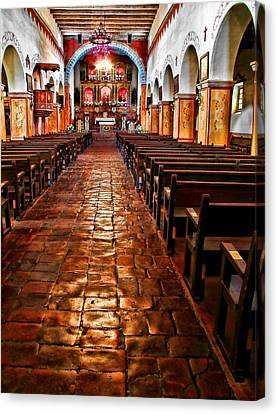 Old Mission Church Canvas Print by Jason Abando