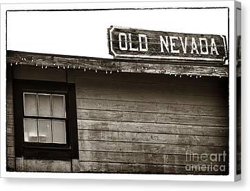 Old Nevada Canvas Print