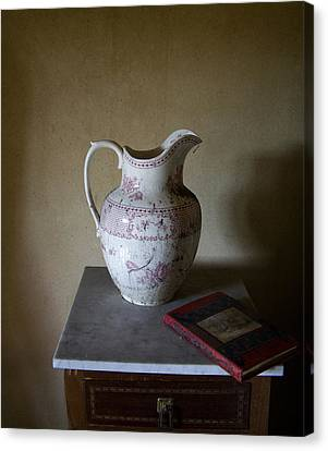 Old Pitcher Canvas Print - Old Pitcher by Ineke Kamps